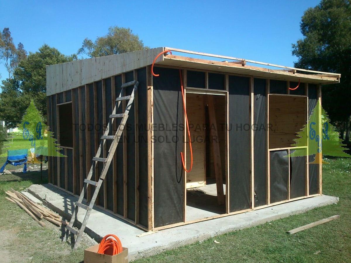 Vivienda prefabricada econ mica 11 mts somos fabricantes - Tipos de casas prefabricadas ...