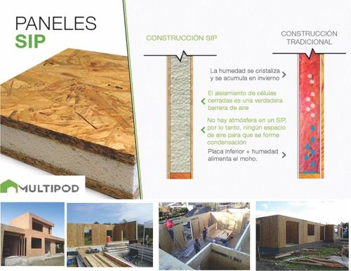 vivienda  prefabricada modular construcción seco a medida