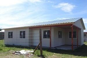 viviendas premoldeadas de 2 dorm. (financiación)