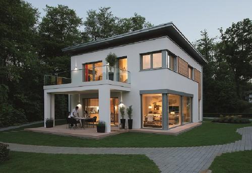 viviendas steel framing estilo minimalista o americano