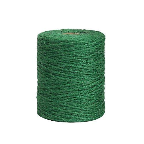 2 mm Cordel de Yute para florister/ía Color Verde Oscuro Manualidades Vivifying