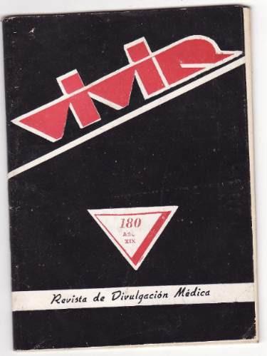 vivir   revista de divulgacion medica  ( setiembre 1957)