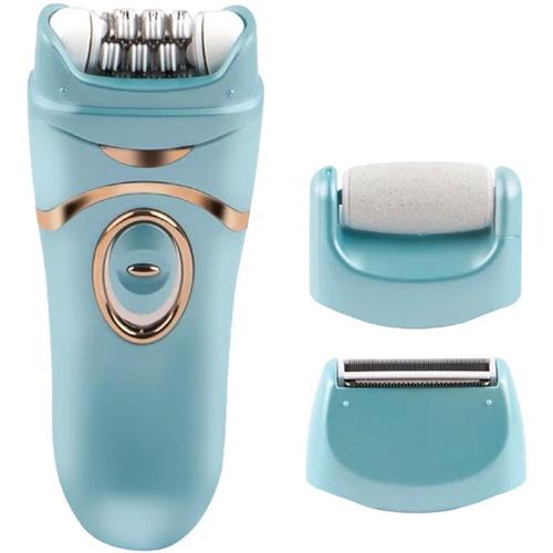 vivitar 3 en 1 exfoliador depilador razurador + accesorios