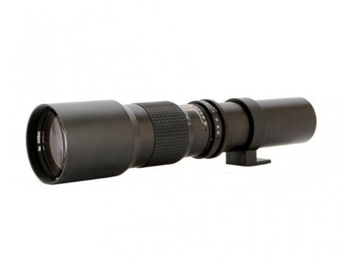 vivitar 500 mm f / 8 telefoto para canon eos digital...