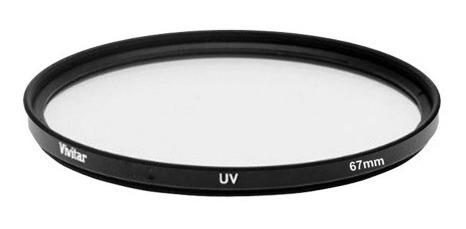 vivitar vivuv67 filtro ultravioleta (uv) p/ lentes com diâ