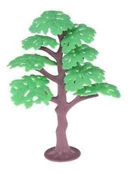 vivo 13cm verde modelo ferrocarril parque pino diseño paisaj