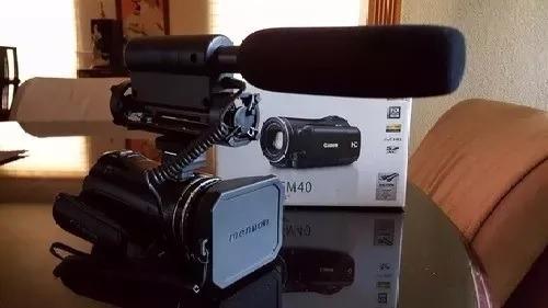 vixia hfm40 totalmente equipada