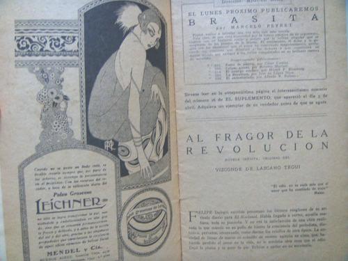 vizconde de lascano tegui: al fragor de la revolucion.