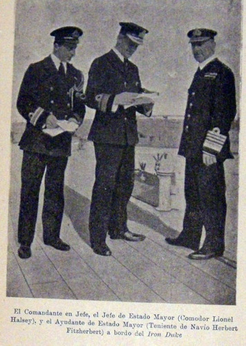vizconde jellicoe la gran flota 1919 primera guerra no envio