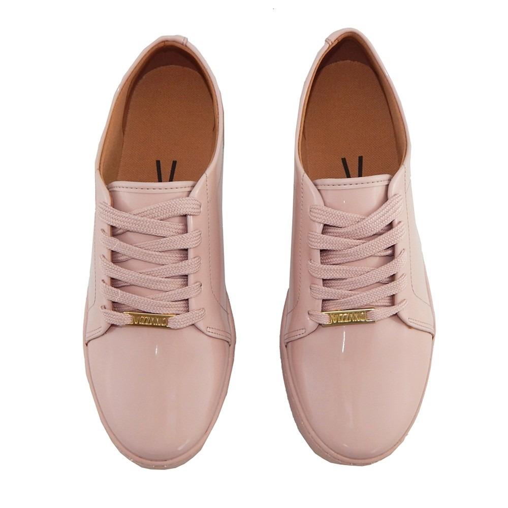 ba452413a90 Carregando zoom... tênis vizzano feminino casual verniz rosa 1214.205  novidade