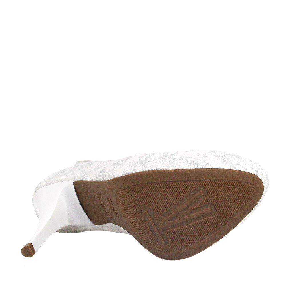 1597c44210 Sapato De Noiva Vizzano Scarpin Verniz Salto Fino Branco - R  194
