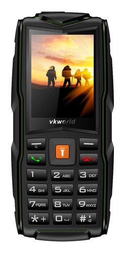 vkworld v3 multifuncion telefono movil verde