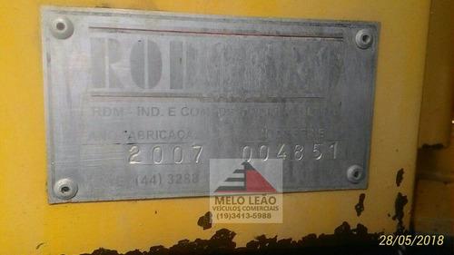 vm 23 260 2008 6x2 munck rodomak ghr 15.000, 4 lanças