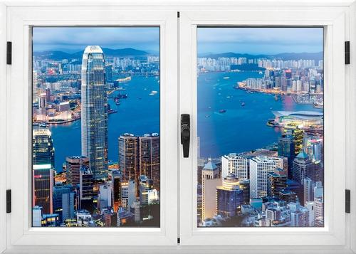 vm - ventanas en vinil adhesivo, 100% personalizado