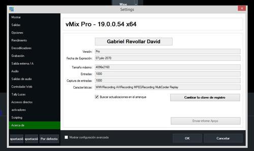 vmix - wirecast