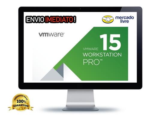 vmware workstation 15.0.1 pro com  licença full