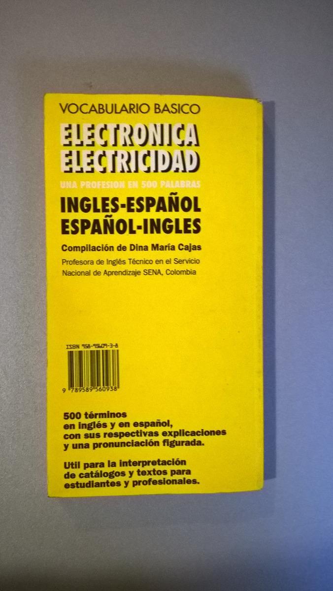 Vocabulario Basico Electronica - Electricidad Inglés Español - $ 105,00 en  Mercado Libre