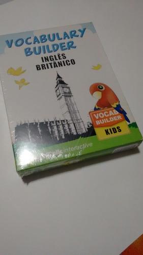 vocabulary builder - inglês britânico