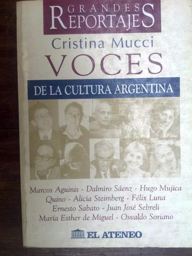 voces de la cultura argentina - cristina mucci