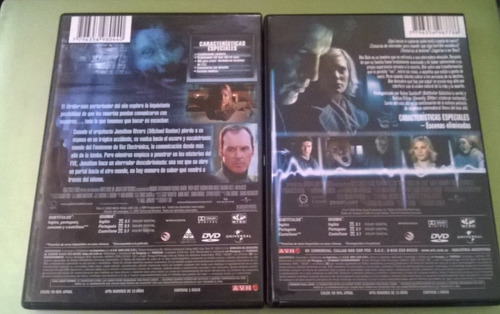 voces del más allá y luces del mas alla saga dvd original