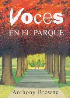 voces en el parque, anthony browne, ed. fce