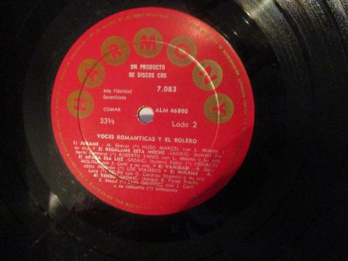 voces románticas y el bolero (harmony 7083)