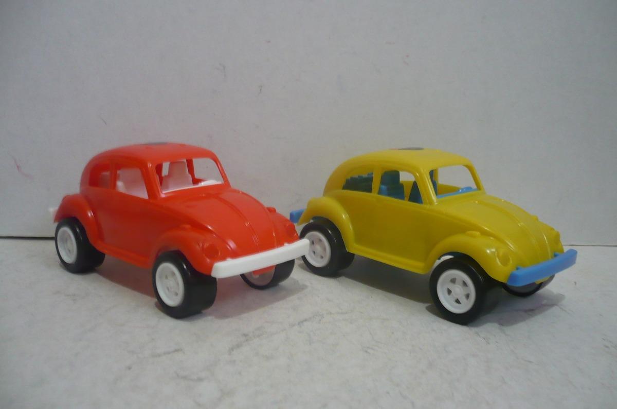 Vocho Vw Beetle Volkswagen Set De 2 Carro D Juguete Escala