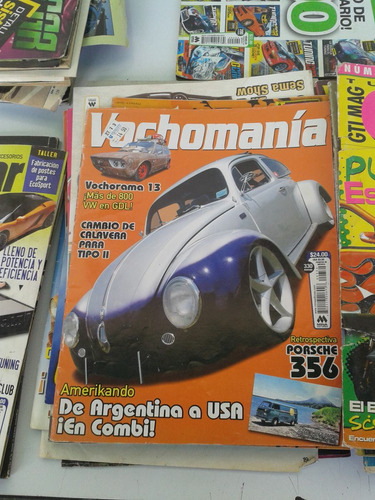 vochomania y otras revist. volswagen