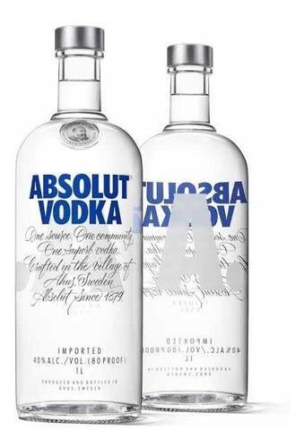 vodka absolut 1 litro (promoção)