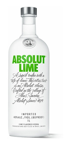 vodka absolut lime botella de litro envio gratis caba