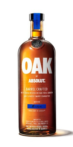 vodka absolut oak de litro barrel crafted envio gratis caba