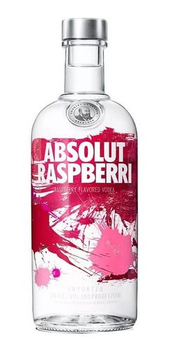 vodka absolut sabor raspberry importada envio gratis en caba