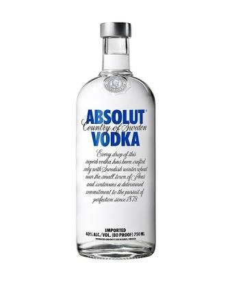 vodka absolut tradicional 1 litro