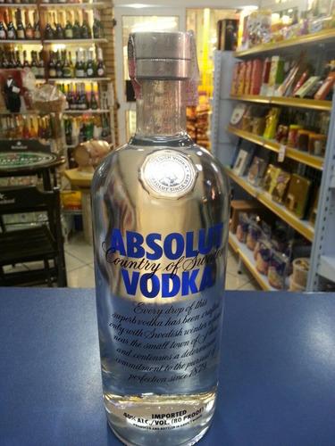 vodka  absolut tradicional  1l promoçao