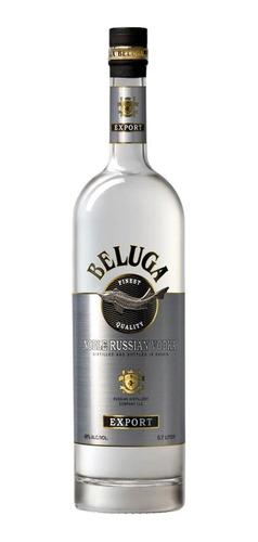 vodka beluga 1 lt, caja de 6