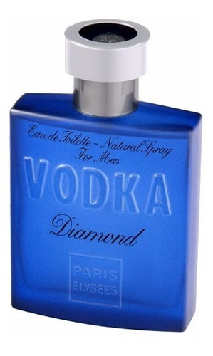 vodka diamond masculino edt 100 ml paris elysees - drakkar