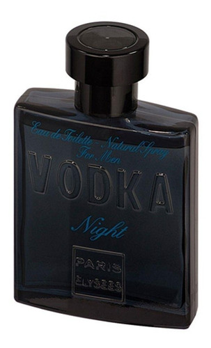vodka night paris elysees perfume masculino de 100 ml