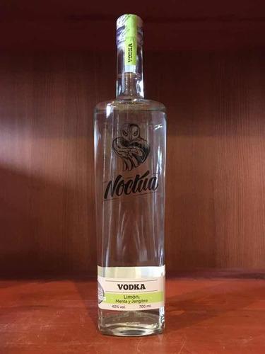 vodka noctua limón menta y jengibre