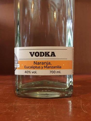vodka noctua naranja eucalipto y manzanilla