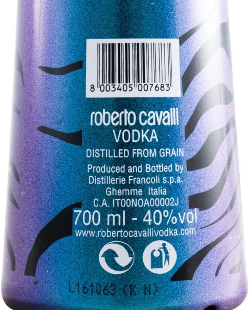 Vodka Roberto Cavalli Chameleon Limited Edition 700ml - R  179,90 em ... 8f4d802295