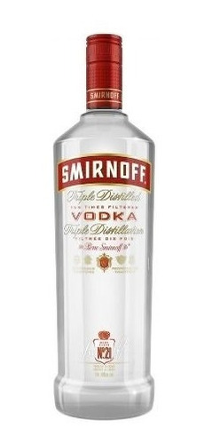 vodka smirnoff - 998ml