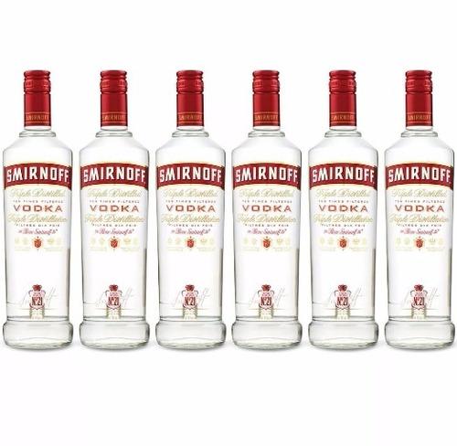 vodka smirnoff kit c/ 6 litros