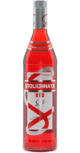 vodka stolichnaya red cranberry botella de litro