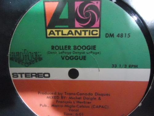 voggue / dancin the night away-roller b vinyl lp acetato