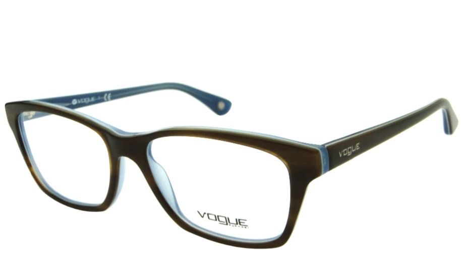 09fa1f1b9 Vogue 2714 Armação Para Óculos De Grau Retrô Feminina - R$ 329,00 em ...