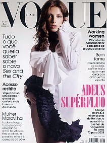 vogue brasil: daria werbowy / sex and the city / working wo
