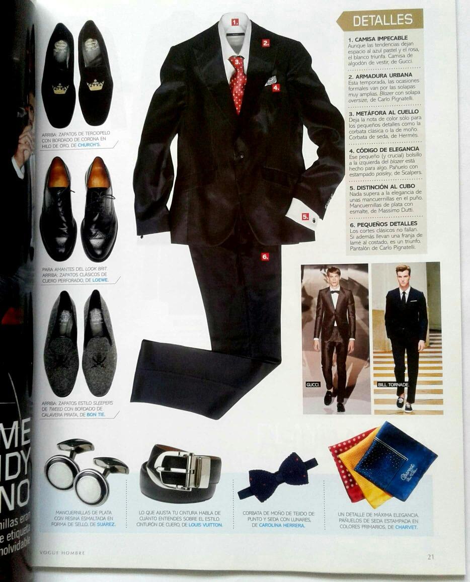 fdc45c4f92bd Vogue Hombre Adam Senn Dolce Michel Stipe Federer Beckham