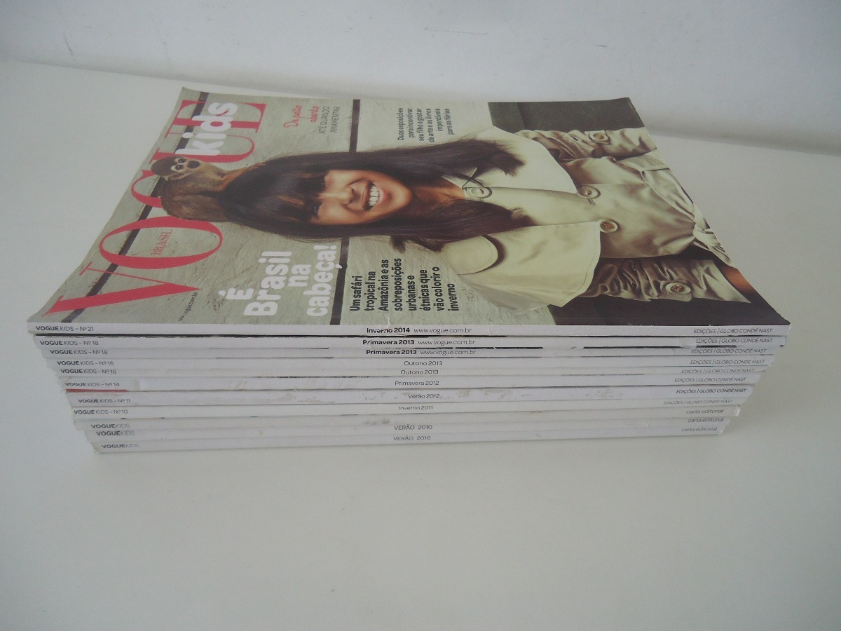 13e881992 Vogue Kids - Preço Por Revista - Veja A Lista - R$ 18,58 em Mercado ...