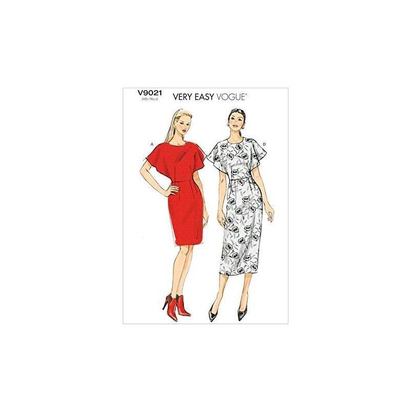 Vogue Patrones V9021 Misses Plantilla De Costura De Vestido ...