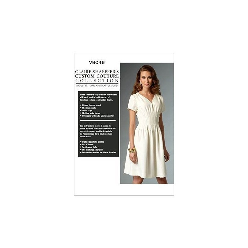 Vogue Patrones V9046 Misses Plantilla De Costura De Vestido ...